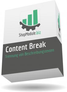 Content Break - Beschreibungstexte einfach trennen