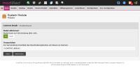 Konfiguration Systemmodul modified eCommerce Shopsoftware