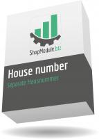 separate Hausnummer